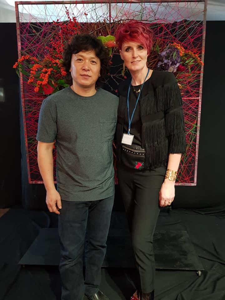 Małgorzata Szwagiel i Alex Choi