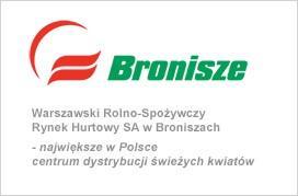 Warszawski Rolno-Spożywczy Rynek Hurtowy SA w Broniszach – największe w Polsce centrum dystrybucji świeżych kwiatów