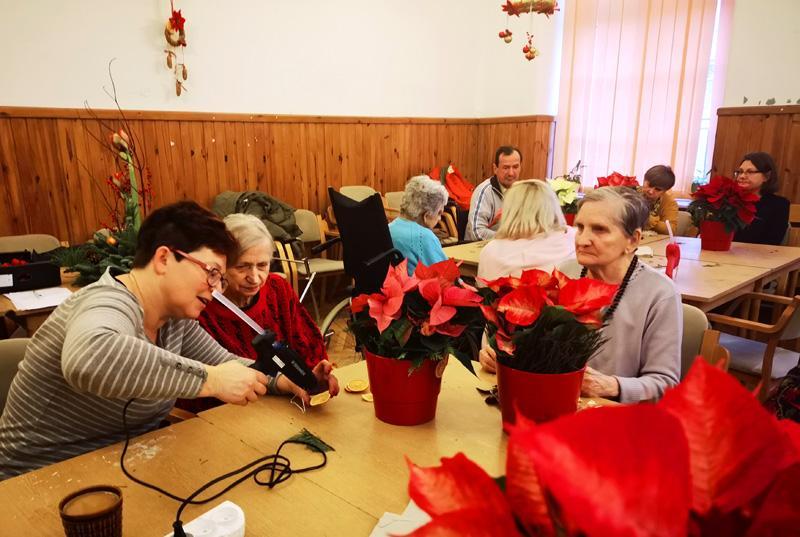 warsztaty florystyczne bożonarodzeniowe