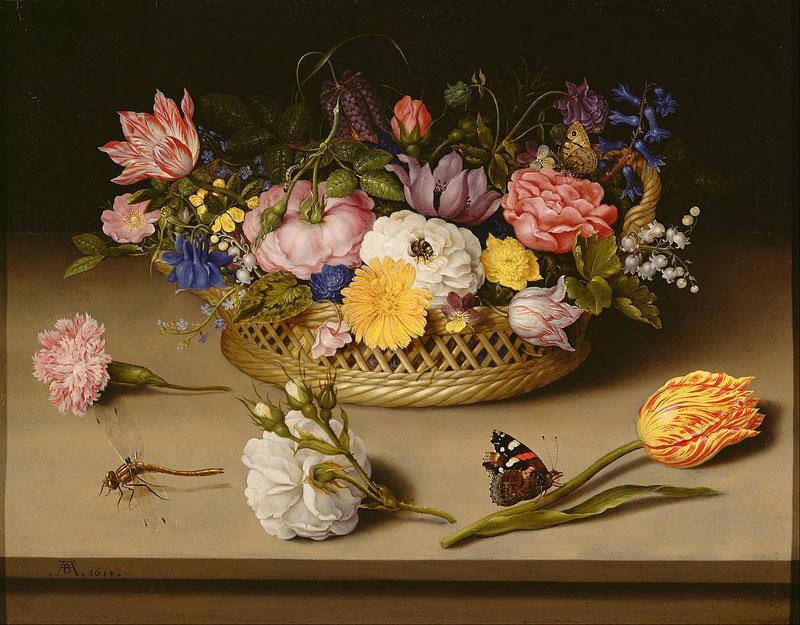 kwiaty w baroku