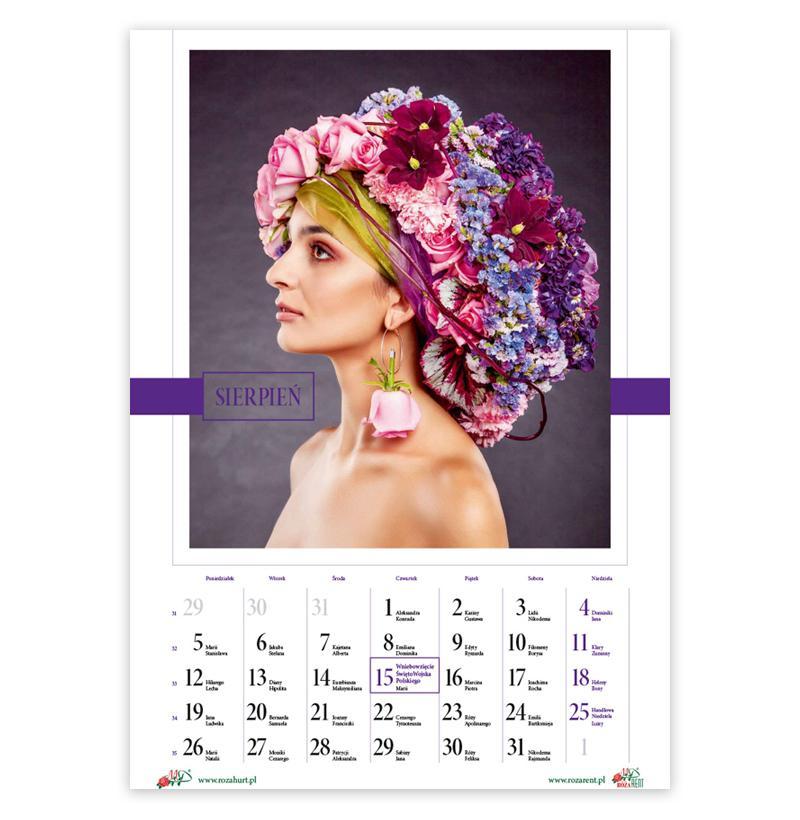 kalendarz florysty 2019