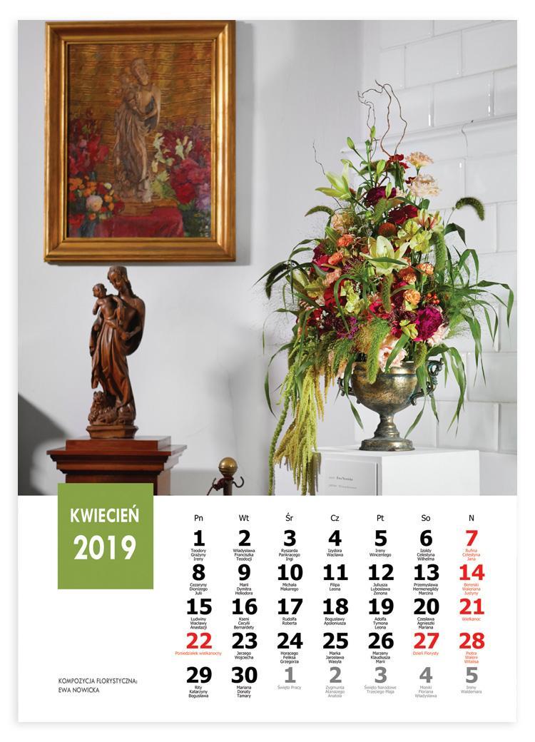 kalendarz florystyczny