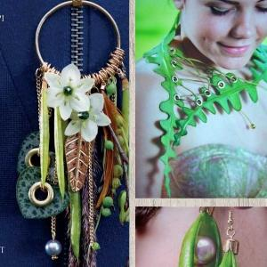 Pirjo Koppi Beautification With Floral Jewellery