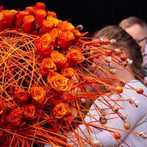 Wiosenni herosi na start – pokaz florystyczny w Hurtowni Kwiatów Róża