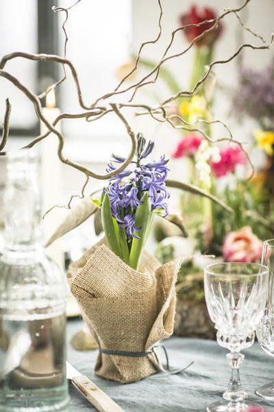 dekoracje stołu Wielkanoc