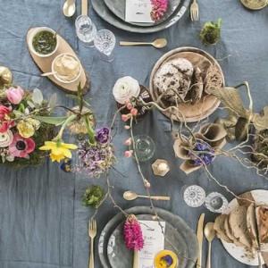 dekoracje z kwiatów na Wielkanoc