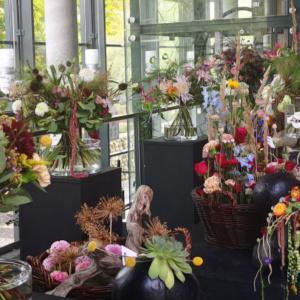 """Wystawa dyplomowa """"Kwiaty"""" w Opolu"""