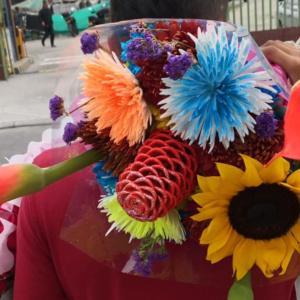 Kwiaty z Kolumbii, czyli odwiedzamy targ Paloquemao w Bogocie