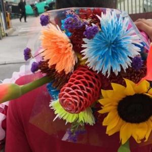 kwiaty z kolumbii