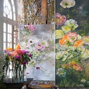 Kwiatowy raj francuskiej artystki Claire Basler