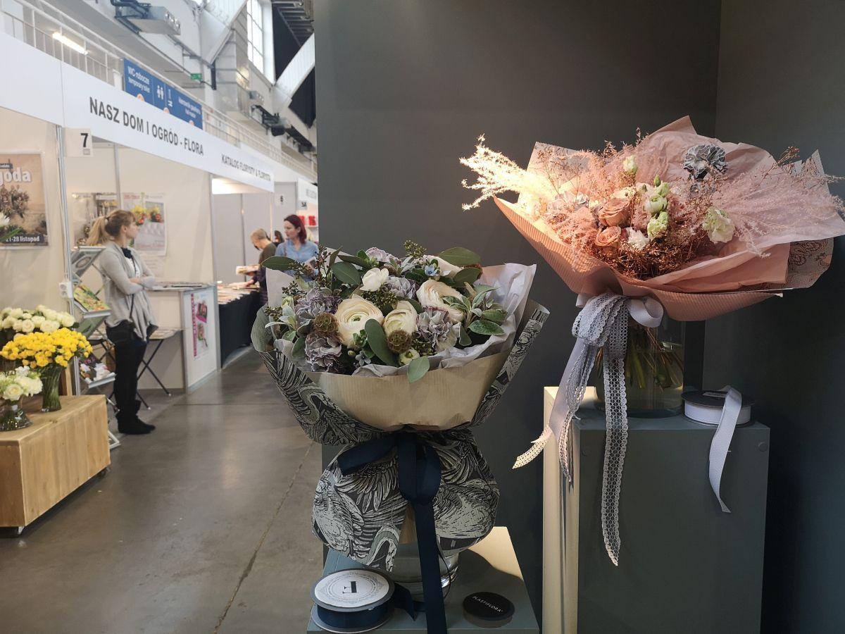Jessi - pokaz Szkoły Florystycznej Ilony Szołtysek