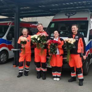 kwiaty dla lekarzy koronawirus