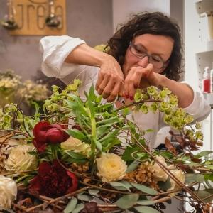bukiet na kryzie kwiaty na Dzień Matki