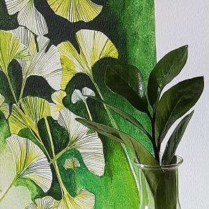 Malarstwo botaniczne. Wywiad z Agnieszką Kowalczyk.