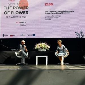 Egzamin na florystę i temat profesjonalnej edukacji florystycznej w Polsce był jednym z punktów programu tegorocznej konferencji The Flower of Power w Rzeszowie.