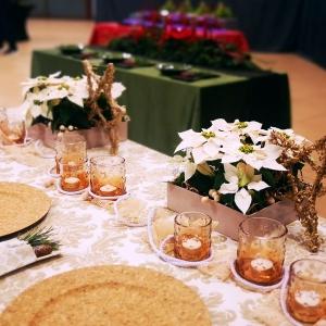 Świąteczna dekoracja stołów
