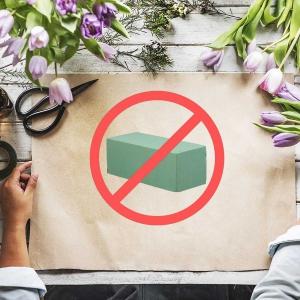 Czy powinniśmy zrezygnować z gąbki florystycznej?
